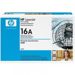 Обмен картриджа HP 5200 (Q7516A)