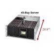 Supermicro представила новую систему хранения данных с 45 отсеками
