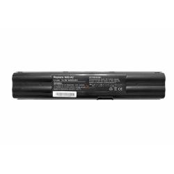 Аккумуляторная батарея Asus A42-A2 black 4400mAhr