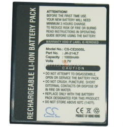 Аккумуляторная батарея Cameronsino Casio JK-214LT Li-ion 950mah