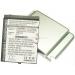 Аккумуляторная батарея Cameronsino Eten 49004440_X500 Li-Pol 3000mah