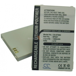 Аккумуляторная батарея Cameronsino LENOVO BP07 li-ion 1300mah