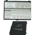 Аккумуляторная батарея Cameronsino Mitac BP8A5LXBKAX1 Li-Pol 1100mah