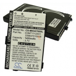 Аккумуляторная батарея Cameronsino Mitac E3MT11124X1 Li-ion 1450mah