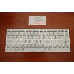 Клавиатура Sony VPC-S silver frame white RU