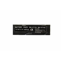 Аккумуляторная батарея Jvc BN-V712 3.7V black 1900mAh