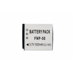 Аккумуляторная батарея Fujifilm FNP-50 3.7V white 1000mAh