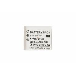 Аккумуляторная батарея Fujifilm FNP-40 3.7V white 1100mAh