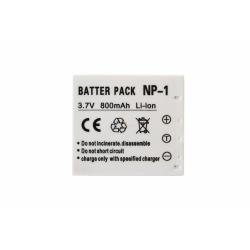 Аккумуляторная батарея Konica-Minolta NP-1 3.7V grey 800mAh