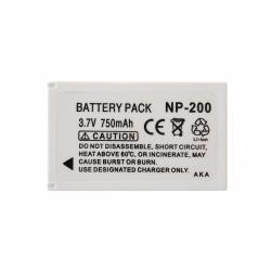 Аккумуляторная батарея Konica-Minolta NP-200 3.7V white 750mAh