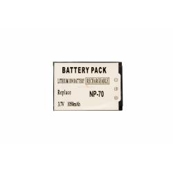 Аккумуляторная батарея Casio CNP-70 3.7V black 1050mAh