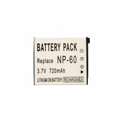 Аккумуляторная батарея Casio CNP-60 3.7V black 720mAh