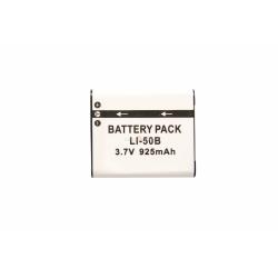 Аккумуляторная батарея Olympus LI-50B 3.7V black 925mAh