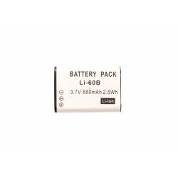 Аккумуляторная батарея Olympus LI-60B 3.7V black 430mAh