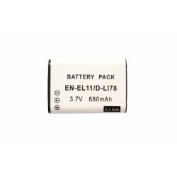 Аккумуляторная батарея Nikon EN-EL11 3.7V white 680mAh