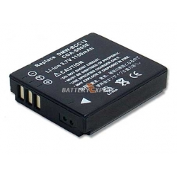Аккумуляторная батарея Panasonic CGA-S005E 3.7V black 1100mAh