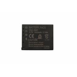 Аккумуляторная батарея Panasonic CGA-S007 3.7V black 1000mAh