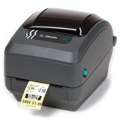 Принтер штрих-кодов Zebra GK 420 T