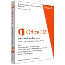 Office 365 Small Bus Prem 32/64 Ukrainian Sub1YR Medialess